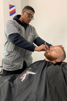 Shaving program in in Newark, Delaware